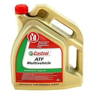 CASTROL   ATF Multivehicle трансмис.масло 5л. - картинка 1